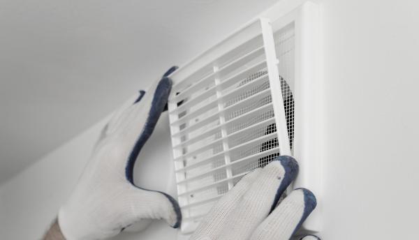 Reinigen ventilatie